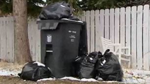 Black garbage carts will be delivered to neighbourhoods across Calgary starting next month.